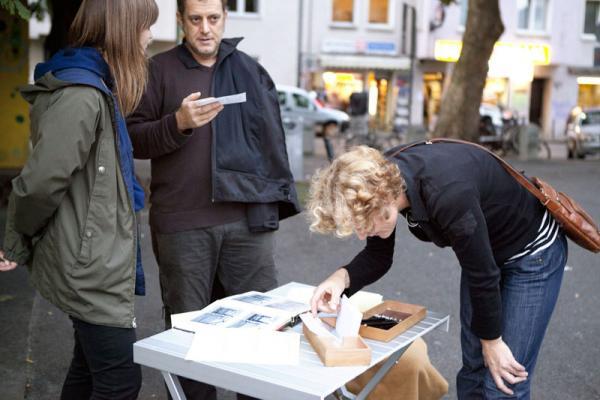 Künstlergespräch Mit Eva Olthof