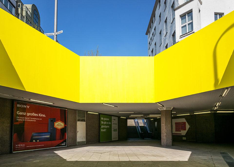 Anja Gerecke: «ausstrahlung» – Installation Im Lichthof Der Ebertplatzpassage